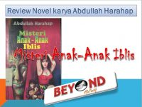Review Novel Misteri anak-anak Iblis by May Zulaikha
